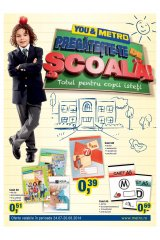 Catalog Metro Cash & Carry 24 iulie-20 august 2014 'Pregateste-te de scoala'