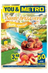 Catalog Metro Cash & Carry 24 iulie-6 august 2014 'Simte briza verii'
