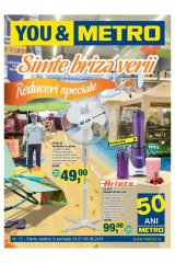 Catalog Metro Cash & Carry nealimentar  24 iulie-6 august 2014 'Simte briza verii'