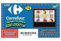 Carrefour lanseaza lozul razuibil in colaborare cu Loteria Romana
