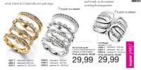 Set inele placate cu aur/argint