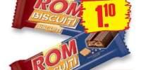 Rom biscuiti, baton cu crema de rom si biscuiti