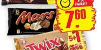 Snikers / Twix / Mars baton cu ciocolata