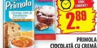 Primola, ciocolata cu crema