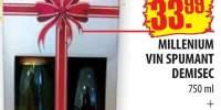 Milenium vin spumant demisec si Halewood Specil Reserve, feteasca neagra