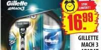 Gillette Mach 3, aparat de ras + Gillette series gel