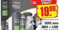 Dove men + care gel de dus + deodorant