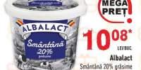 Smantana 20% grasime Albalact
