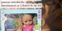Papusa interactiva Irina cea isteata