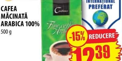 Cafea macinata Arabica 100%