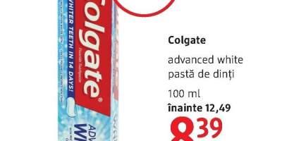Pasta de dinti Colgate Advanced White