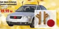 Set deco Craciun pentru automobil