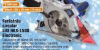 Ferastrau circular lux HKS-1500 electronic