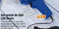 Set pistol de lipit Lux Basic