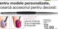 Pensula pentru modele pe unghii