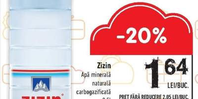 Apa minerala Zizin