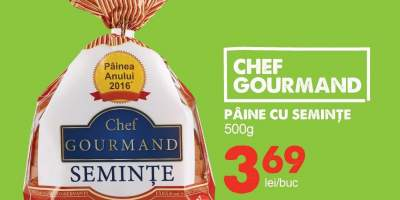 Paine cu seminte Chef Gourmand
