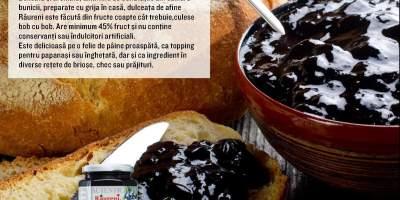 Dulceata de afine Raureni