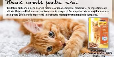 Hrana umedca cu curcan pentru pisici Friskies