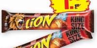 Lion King Size, baton de ciocolata cu caramel
