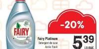 Detergenti de vase Fairy Platinum