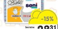Scutece Medium 2 Seni Active