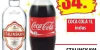 Stalinskaya Vodka + Coca Cola 1 L inclus