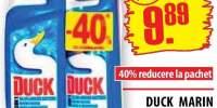 Duck Marin, solutie pentru curatat WC