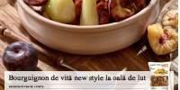 Bourguignon de vita new style la oala de lut