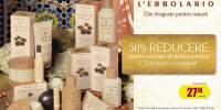 50% Reducere pentru oricare al doilea produs L'Erbolario
