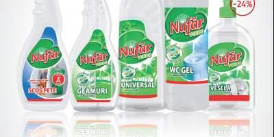 Solutii de curatenie Nufar