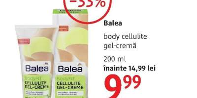 Gel crema Balea body-cellulite