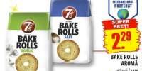 Bake rolls aroma