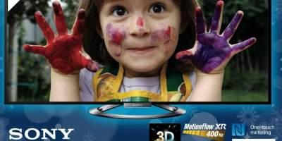 Sony, 3D Smart TV Led KDL55W805