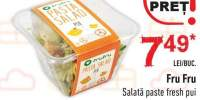 Salate paste fresh pui Fru Fru