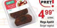 Burger vegetal Mega Apetit