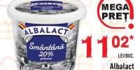 Albalact smantana 20% grasime Gusturi Romanesti
