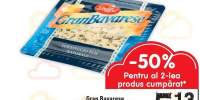 Branza felii Gran Bavarese 50% grasime