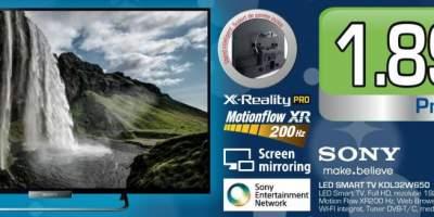 Televizor Sony Led Smart TV KDL32W650