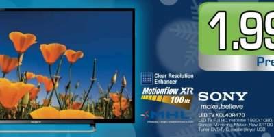 Televizor Sony Led TV KDL40R470