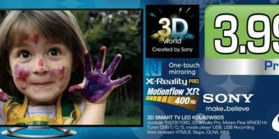 Televizor Sony 3D Smart TV Led KDL42W805