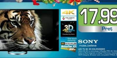 Televizor Sony, Led TV 4K KDL55X9005