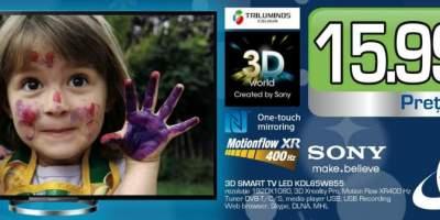 Televizor Sony 3D Smart TV Led KDL65W855
