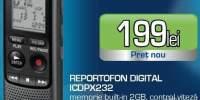 Reportofon digital Sony ICDPX232