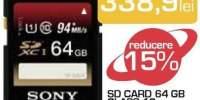 Sd card 64 GB Class 10