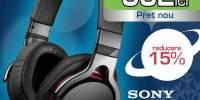 Casti Sony HI-Fi DJ MDR1RB
