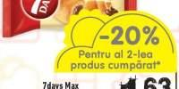 Croissant cu crema 7days Max