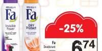 Deodorant spray Fa