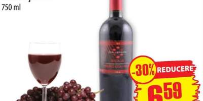 Nero D'avola Sicilia, vin rosu sec