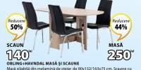 Set masa si scaune Obling + Havndal